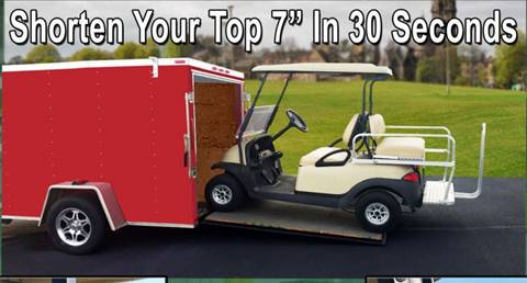 Drop Top, Roof Hinge Lowers Golf Cart Top for sale in Acme, PA