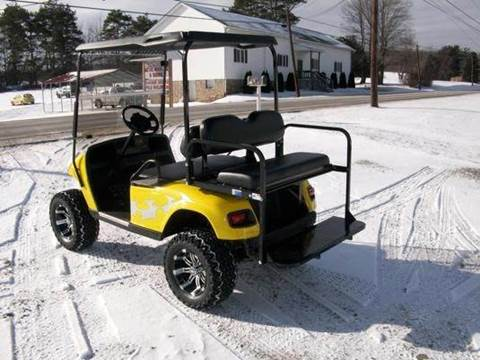 Rear Flip Seat Fits EZ-GO TXT for sale at Area 31 Golf Carts - Rear Seats in Acme PA