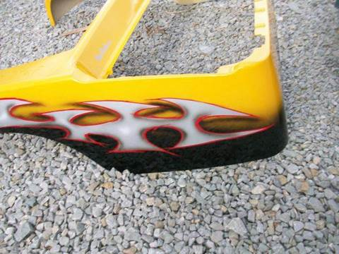 Club Car Precedent  Body Yellow Tribal Air-Brushed Body for sale in Acme, PA