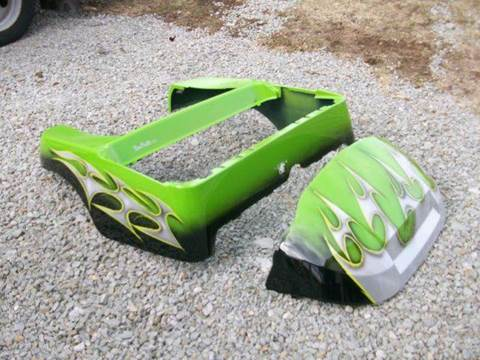 Club Car Precedent   Body Lime Green TXT Body for sale in Acme, PA