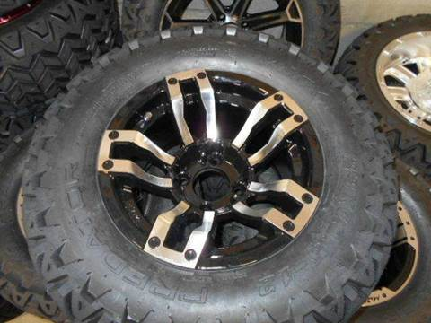 """Velocity 12"""" Wheels with a 23"""" Golf Cart Wheels and Tires for sale at Area 31 Golf Carts - Wheels in Acme PA"""