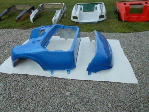 2015 EZ-GO RXV Custom Body Two Tone Blue for sale in Acme, PA
