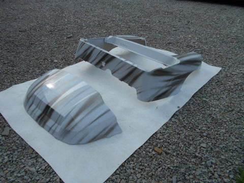 2015 Club Car Precedent Custom Body White and Silver Streak for sale in Acme, PA