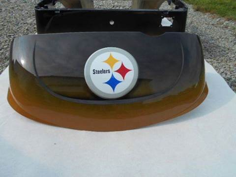 2014 EZ-GO RXV Custom Body Pittsburgh Steelers Body for sale in Acme, PA