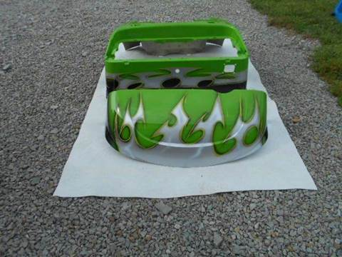 2015 EZ GO RXV Custom Painted Body Lime Green Tribal Body for sale in Acme, PA