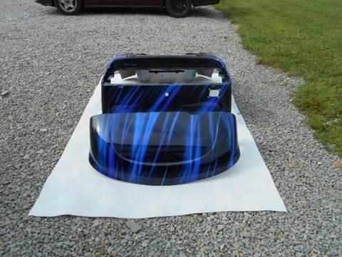 2015 EZ GO RXV Custom Painted Body Blue Streak for sale in Acme, PA