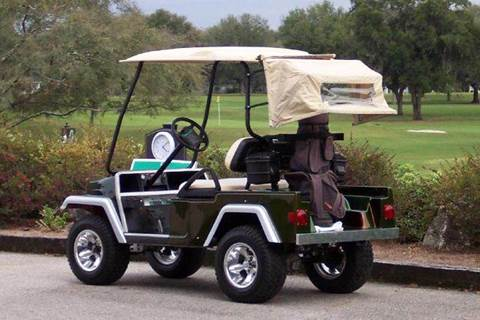 2014 Jeep Like Golf Cart Body Fits Yamaha Drive Golf Carts for sale in Acme, PA