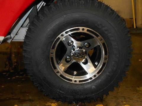 2015 Mag Wheels + Off-Road Tires Fit Non-Lifted Golf Cart for sale in Acme, PA