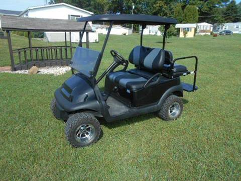 2008 Club Car Lifted Golf Cart Black Precedent for sale at Area 31 Golf Carts - Gas 4 Passenger in Acme PA