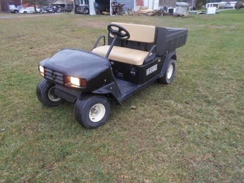 2009 EZ-GO Gas Dump Cart MPT, Utility Golf Cart, Black