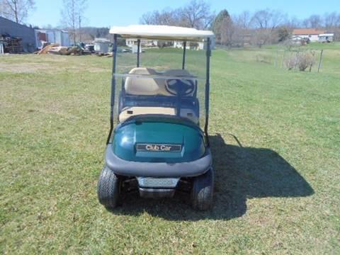 "2008 Club Car Golf Cart ""GAS"" Prec. Rear Seat & Lights"
