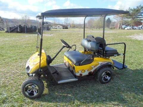 2011 EZ-GO Custom Golf Cart 4 Passenger TXT