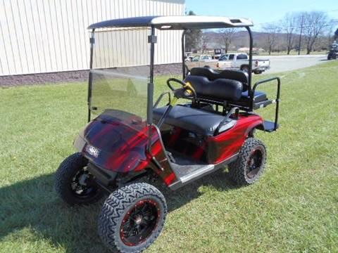2007 EZ-GO Lifted Golf Cart TXT 4 Passenger