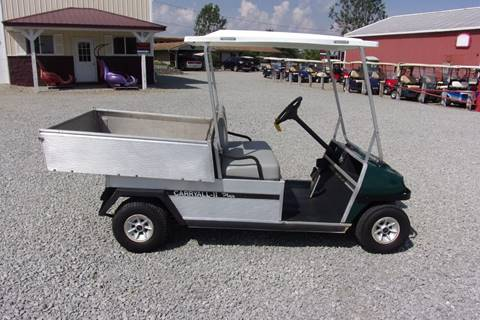 1996 Club Car Utility Golf Cart Carryall With a Power Dump Bed for sale in Acme, PA