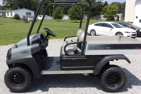 2013 Club Car 4X4 Utility Vehicle 295 With a gas engine.  for sale in Acme, PA