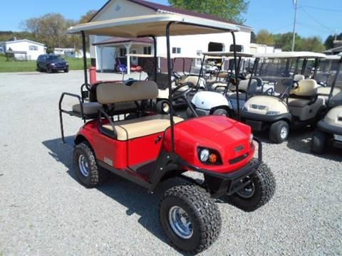 2015 EZ-GO S4 Golf Cart Lifted 4 Passenger
