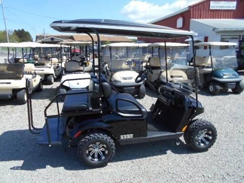 2015 EZ-GO Valor 4 Passenger Gas Golf Cart