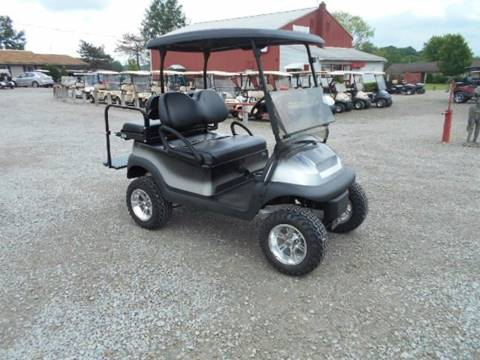 2012 Club Car Lifted Golf Cart Precedent 4 Passenger