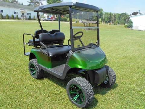 2009 EZ-GO Lifted Golf Cart RXV, GAS