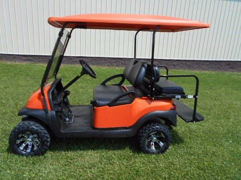 2008 Club Car Lifted Golf Cart Precedent Gas
