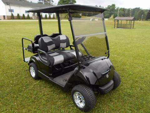 2010 Yamaha Gas Golf Cart Drive, 4 Passenger