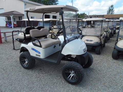 "2008 EZ-GO Lifted Golf Cart RXV ""GAS"""