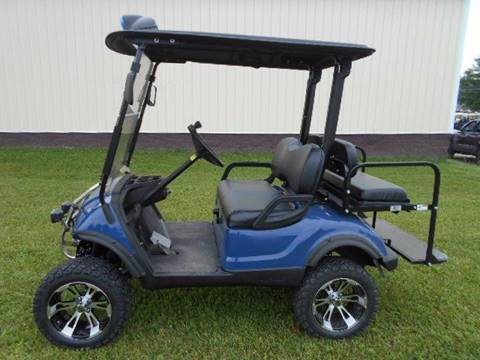 2012 Yamaha Lifted Golf Cart 4  Passenger, GAS