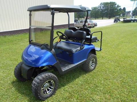 2009 EZ-GO Lifted Golf Cart RXV, 4 Passenger