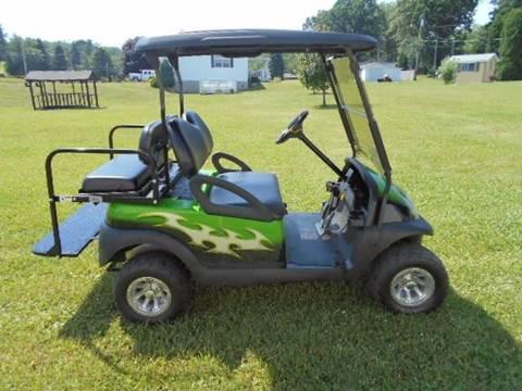 """2008 Club Car Lifted Golf Cart Precedent """"GAS"""""""