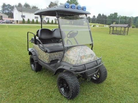 2008 Club Car Hunting Golf Cart Gas, 4 Passenger