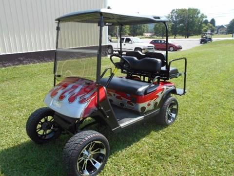 2011 EZ-GO Lifted Golf Cart TXT 4 Passenger