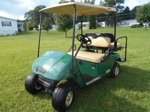 2012 EZ-GO Gas Golf Cart TXT 4 Passenger