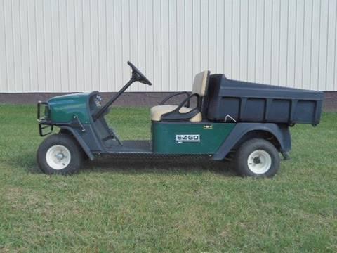 2007 EZ-GO MPT, Utility Cart 48 Volt Dump Golf Cart