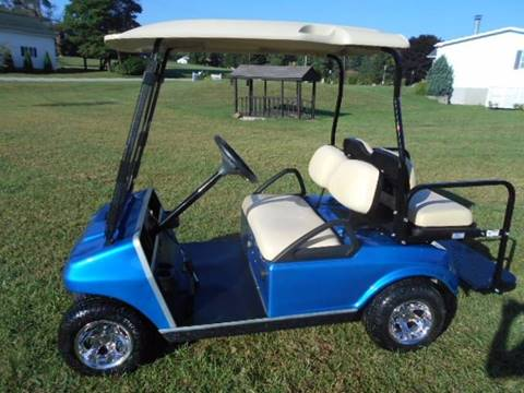 2008 Club Car 4 Passenger Golf Cart Gas, DS