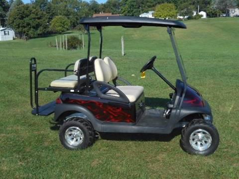 2008 Club Car Lifted Golf Cart Precedent, 48 Volt
