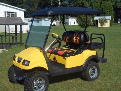2008 Club Car Lifted Golf Cart Phantom, 4 Passenger, Gas