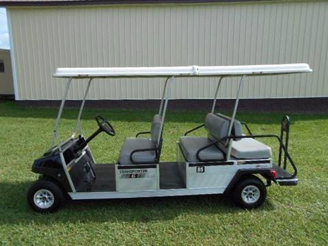 2008 Club Car Limo Golf Cart 6 Passenger, Gas,