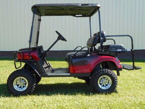 2012 EZ-GO Lifted Golf Cart TXT with ST Body