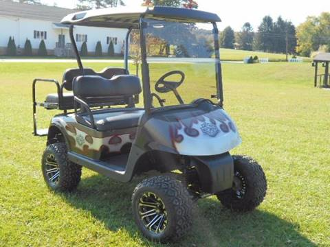 2010 EZ GO Lifted Golf Cart RXV, GAS,