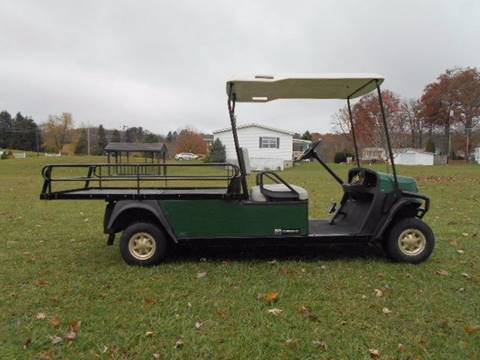2012 Cushman Utility Golf Cart Shuttle 2 Flatbed Truck for sale in Acme, PA