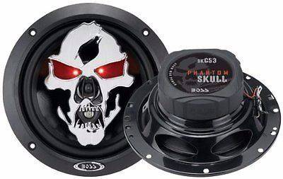 """BOSS SKULL SPEAKERS Phantom Skull Series 6.5"""" for sale at Area 31 Golf Carts - Accessories in Acme PA"""