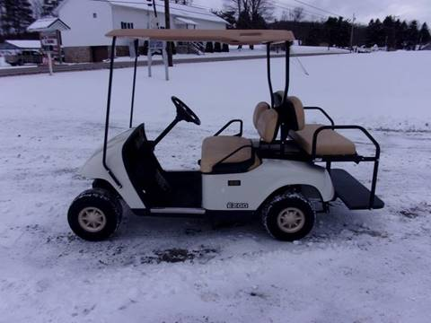 2012 EZ GO Gas Golf Cart TXT 4 Passenger