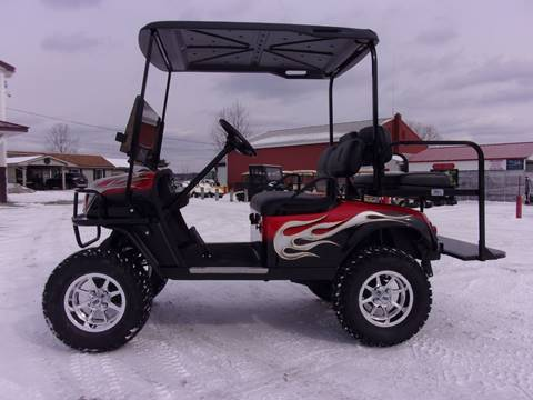 2013 EZ GO Lifted Golf Cart ST 4 Passenger
