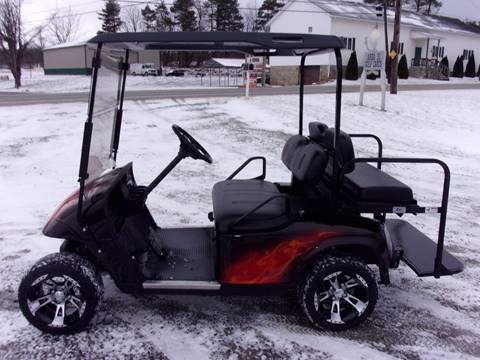 2012 EZ GO Custom Golf Cart TXT 4 Passenger Gas