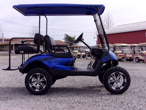 2011 Yamaha Golf Cart Lifted, Gas