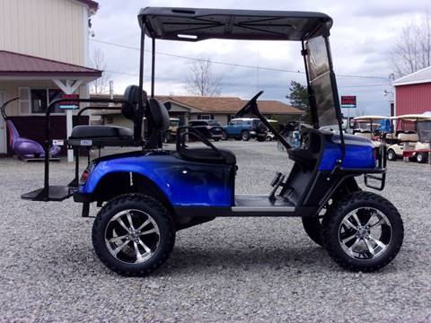 2012 EZ-GO  4 Passenger  ST Golf Cart