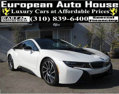 2014 BMW i8 for sale at European Auto House in Los Angeles CA