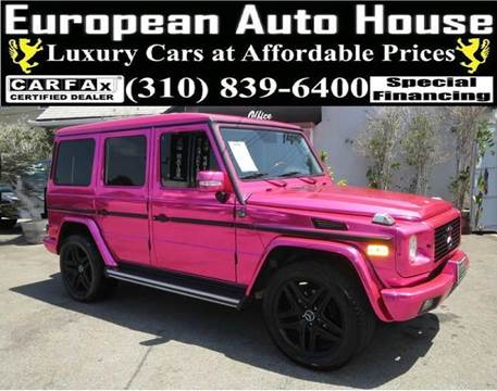 2005 Mercedes-Benz G-Class for sale at European Auto House in Los Angeles CA