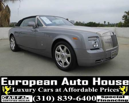2010 Rolls-Royce Phantom Drophead Coupe for sale at European Auto House in Los Angeles CA