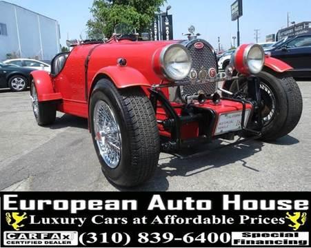 1927 Bugatti KIT CAR for sale at European Auto House in Los Angeles CA
